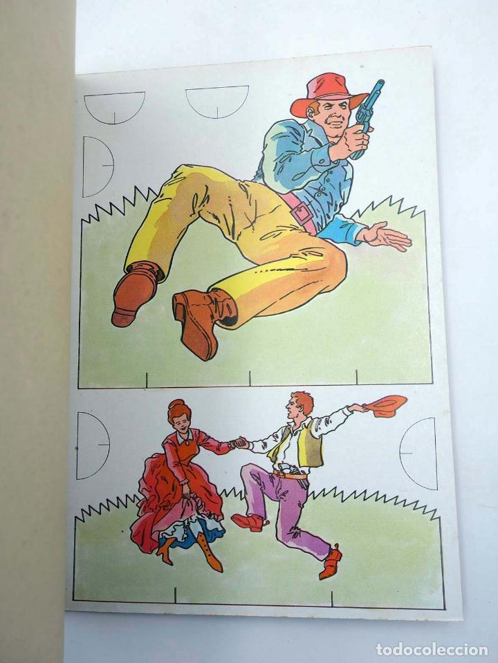 Coleccionismo Recortables: RECORTABLES UNA NOVEDAD MUY DIVERTIDA 2. OESTE (Estudi Bonnet) Bruguera, 1984 - Foto 3 - 147670770