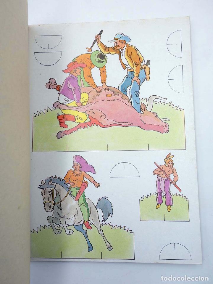 Coleccionismo Recortables: RECORTABLES UNA NOVEDAD MUY DIVERTIDA 2. OESTE (Estudi Bonnet) Bruguera, 1984 - Foto 4 - 147670770