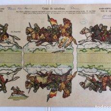 Coleccionismo Recortables: RECORTABLE LA TIJERA.UNIFORME 1932.BANDERA REPÚBLICA.CARGA DE CABALLERÍA.SOLDADOS SERIE 10, 26.. Lote 115468159