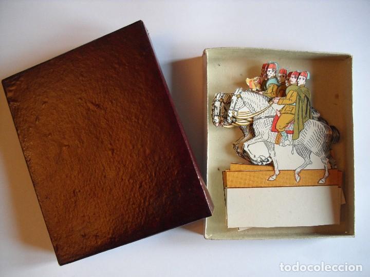 Coleccionismo Recortables: Recortable Regulares Caballería - Foto 2 - 117249147