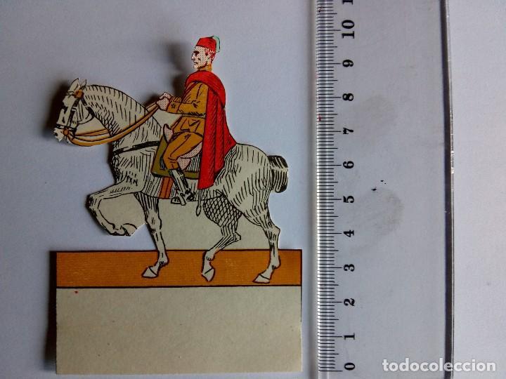 Coleccionismo Recortables: Recortable Regulares Caballería - Foto 4 - 117249147