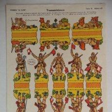Coleccionismo Recortables: LA TIJERA SERIE 10TRANSMISIONES Nº 49. Lote 118698495