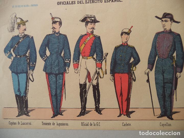PALUZIE OFICIALES DEL EJERCITO ESPAÑOL Nº 3 (Coleccionismo - Recortables - Soldados)