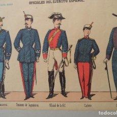 Coleccionismo Recortables: PALUZIE OFICIALES DEL EJERCITO ESPAÑOL Nº 3. Lote 120718907