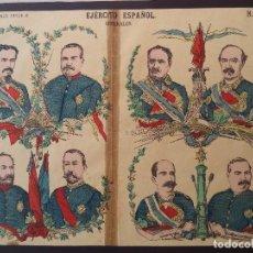 Coleccionismo Recortables: PALUZIE EJERCITO ESPAÑOL GENERALES Nº 10. Lote 120719235