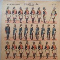 Coleccionismo Recortables: EJERCITO ESPAÑOL ESCOLTA REAL Nº 44 LIT HIJOS DE PALUZIE BARCELONA. Lote 121642231