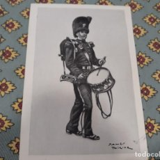 Coleccionismo Recortables: JAMES THIRIAR MILITAR 1914 LAMINA TAMAÑO POSTAL. Lote 124264687