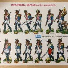 Coleccionismo Recortables: RECORTABLE DE INFANTERÍA ESPAÑOLA (ERA NAPOLEÓNICA). EDICIONES BOGA. 1973.. Lote 129742531