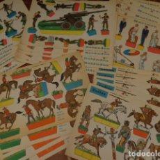 Coleccionismo Recortables: 30 RECORTABLES EVA - TAMAÑO 30 X 45 CM - ORIGINALES 1965. Lote 132914386