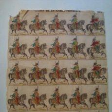 Coleccionismo Recortables: RECORTABLE GUIDES DE LA GARDE IMPÉRIALE ARMÉE FRANÇAISE 514 (IMAGES GANGEL DIDION). EJÉRCITO FRANCÉS. Lote 134303646