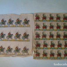 Coleccionismo Recortables: RECORTABLE IMAGES DE GANGEL ARMÉE D'AFRIQUE / EJÉRCITO AFRICANO. ¡RARO!. Lote 134304490