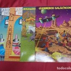 Coleccionismo Recortables: COLECCION SOLDADITOS DE PAPEL . RECORTABLES. CUATRO EJEMPLARES.. Lote 135066958