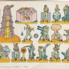 Coleccionismo Recortables: RECORTABLES BRUGUERA - RAMPA CÓSMICA DE LANZAMIENTO - EDITORIAL BRUGUERA, 1960.. Lote 137878990