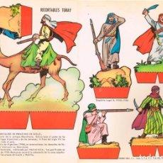 Coleccionismo Recortables: SOLDADOS MARROQUIES DE PRINCIPIO DEL SIGLO XX. RECORTABLES TORAY Nº 155. Lote 162575894
