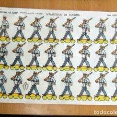 Coleccionismo Recortables: EDICIONES LA ILUSION-- INFANTERIA DE MARINA-- SERIE ILUSION Nº 48 - AÑO 1958 . Lote 139982014