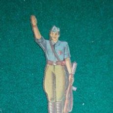 Coleccionismo Recortables: GUERRA CIVIL. CROMO - RECORTABLE - TROQUELADO. EJERCITO NACIONAL, FALANGISTA. Lote 140339114