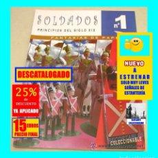 Coleccionismo Recortables: LIBRO DE RECORTABLES - SOLDADOS 1- PRINCIPIOS DEL SIGLO XIX - FANTASÍAS DE PAPEL - 2003 - 15 EUROS. Lote 141012570