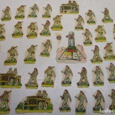 Coleccionismo Recortables: RECORTABLE SOLDADOS, BRUGUERA. Lote 145431182