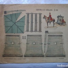 Coleccionismo Recortables: CENTINELA CABALLERIA Nº 109 SUCESORES DE HERNANDO 33X26 CM. Lote 146509326