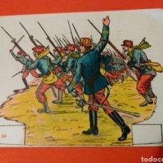 Coleccionismo Recortables: SOLDADOS COMBATE DE VERDUN 1ª SERIE Nº 34 - CHOCOLATES SALAS-SABADELL AÑOS 20. Lote 146762908