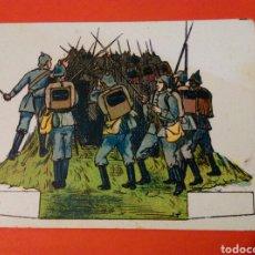 Coleccionismo Recortables: SOLDADOS COMBATE DE VERDUN 1ª SERIE Nº 15 - CHOCOLATES SALAS-SABADELL AÑOS 20. Lote 146763269