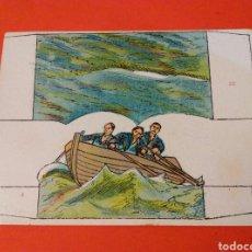 Coleccionismo Recortables: GRAN COMBATE NAVAL 2ª SERIE Nº 27 Y 3 - CHOCOLATES SALAS-SABADELL AÑOS 20. Lote 146765766