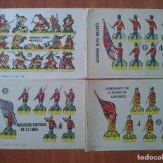 Coleccionismo Recortables: 10 RECORTABLES DISTINTOS - BRUGUERA . Lote 151183320