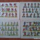 Coleccionismo Recortables: 10 RECORTABLES MILITARES - DISTINTOS - BRUGUERA. Lote 151183362