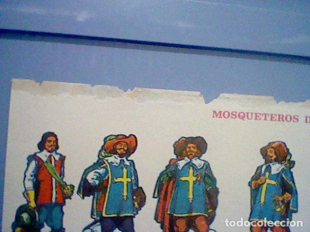 Coleccionismo Recortables: MOSQUETEROS DEL REY RECORTABLE LETRA G - Foto 3 - 147669194