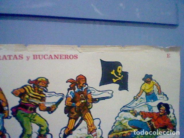Coleccionismo Recortables: PIRATAS Y BUCANEROS EPOCA NAPOLEONICA RECORTABLE LETRA E - Foto 3 - 147669298