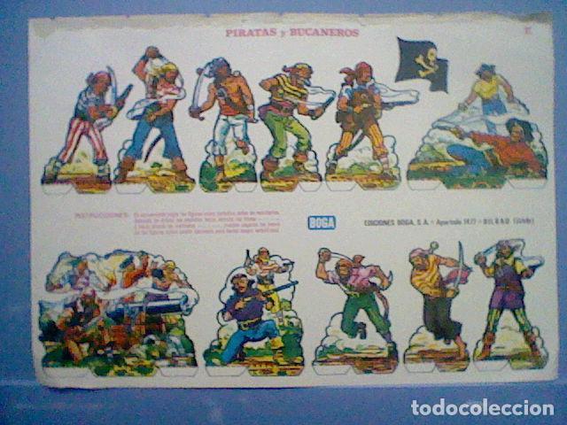 Coleccionismo Recortables: PIRATAS Y BUCANEROS EPOCA NAPOLEONICA RECORTABLE LETRA E - Foto 4 - 147669298
