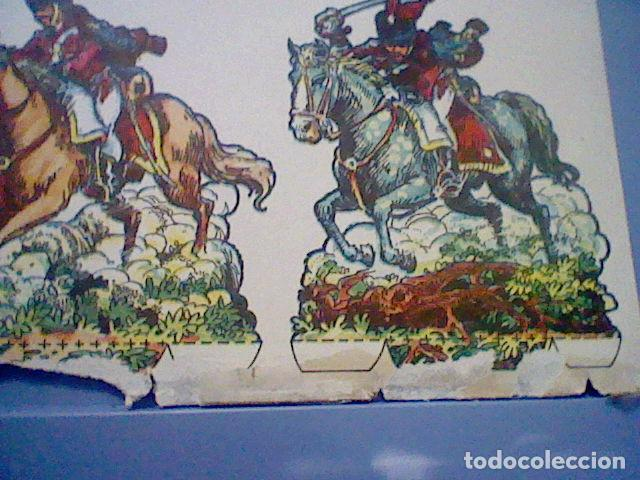 Coleccionismo Recortables: HUSARES E INFANTERIA DE 1820 RECORTABLE LETRA B - Foto 2 - 147669410