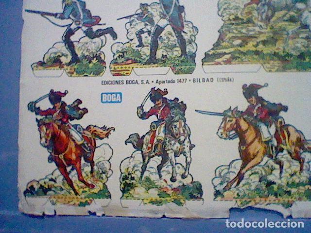 Coleccionismo Recortables: HUSARES E INFANTERIA DE 1820 RECORTABLE LETRA B - Foto 3 - 147669410