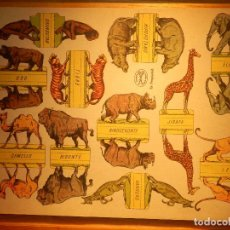 Coleccionismo Recortables: RECORTABLE - SOLDADITOS - ANIMALES SALVAJES - EDICIONES LA TIJERA . Lote 148496726