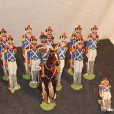 Coleccionismo Recortables: SOLDADOS DE CARTÓN TROQUELADOS , DE 10 CM DE ALTURA , VER FOTOS. Lote 152318914