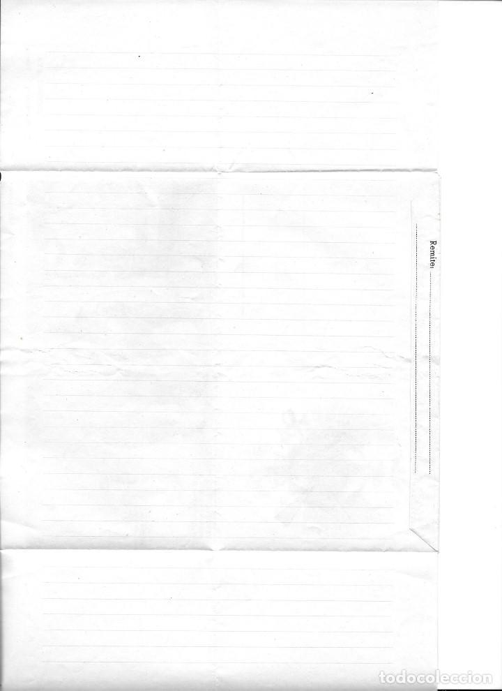 Coleccionismo Recortables: IMPRESO PARA ESCRIBIR CARTA DEL EJERCITO DE JURA DE LA BANDERA SERIE ESPECIAL M-C 1 - Foto 3 - 152906222