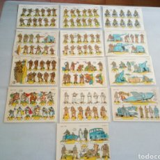 Coleccionismo Recortables: 13 RECORTABLES LA TIJERA LILIPUT. Lote 153550912