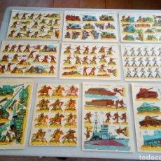 Coleccionismo Recortables: 10 RECORTABLES LA TIJERA ILUSION. Lote 153551176