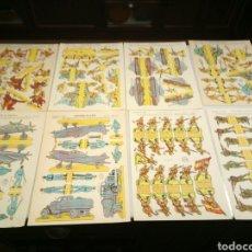 Coleccionismo Recortables: 8 RECORTABLES LA TIJERA.. Lote 153570348