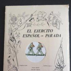 Coleccionismo Recortables: RECORTABLES EL EJÉRCITO ESPAÑOL EN PARADA _LEY516. Lote 223394960