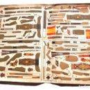 Coleccionismo Recortables: RECORTABLES EJERCITO ESPAÑOL. JUGUETES IMITACIÓN MADERA. TENIENTE ABANDERADO. CABO REGULARES.TERCIO.. Lote 154639114