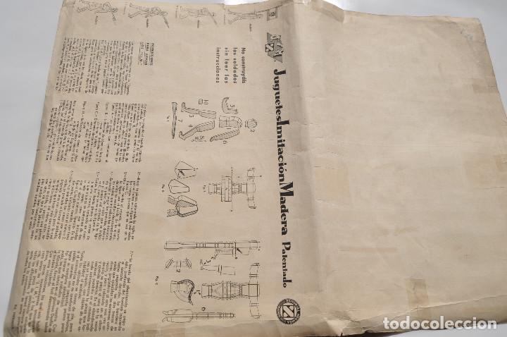 Coleccionismo Recortables: RECORTABLES EJERCITO ESPAÑOL. JUGUETES IMITACIÓN MADERA. TENIENTE ABANDERADO. CABO REGULARES.TERCIO. - Foto 6 - 154639114