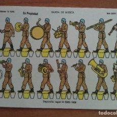 Coleccionismo Recortables: Nº 16 BANDA DE MÚSICA - SERIE LILIPUT / EDICIONES LA TIJERA. Lote 197177501