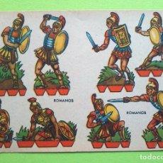 Coleccionismo Recortables: RECORTABLES CELMA - ROMANOS - AUTOR: RIBAS - PERFECTO ESTADO. Lote 155281226