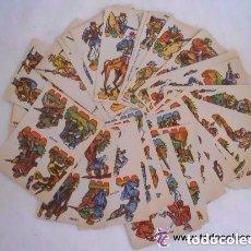 Coleccionismo Recortables: LOTE 31 RECORTABLES MARCA RIBAS SOLDADOS AÑOS 40. Lote 155518198