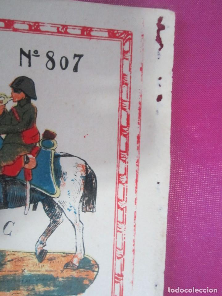 Coleccionismo Recortables: CABALLERIA DEL EJERCITO ESPAÑOL RECORTABLE 8O7 HERNANDO .1930 - Foto 4 - 158599294