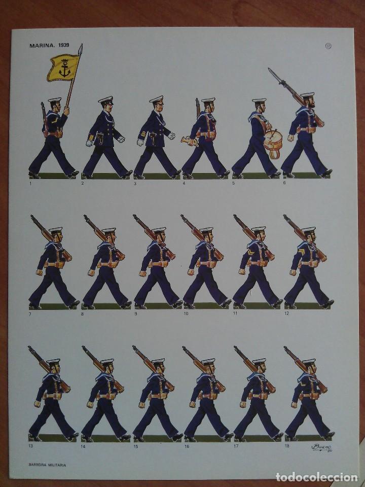 RECORTABLE MARINA 1939 (Coleccionismo - Recortables - Soldados)