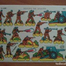 Coleccionismo Recortables: RECORTABLE ILUSIÓN : EQUIPO DE ASALTO - EDICIONES LA TIJERA. Lote 297037578