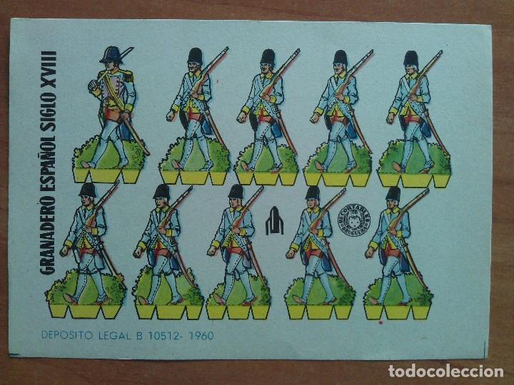 BRUGUERA : LOTE DIVERSOS RECORTABLES : EJERCITO ESPAÑOL /RECORTABLES GRANDES Y PEQUEÑOS (Coleccionismo - Recortables - Soldados)