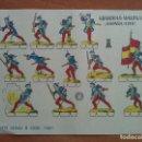 Coleccionismo Recortables: RECORTABLE GUARDIAS WALONAS (ESPAÑA 1710). Lote 160846346